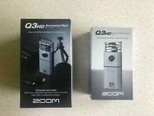 ZOOM Q3HD HANDY VIDEO CAMERA & MICROPHONE RECORDER CAMCORDER