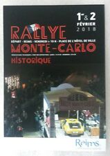 Carte postale Rallye Monté Carlo Historique 2018 départ de Reims Alpine A310