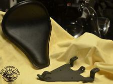 Bobber Sitz Schwarz + Montage Kit Sportster 48 ab 2004-2006 und ab 2010