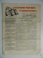 Journal Dos Veces Al Mes Las Grandes Mercados Comerciales N º 24 Punzon 1928