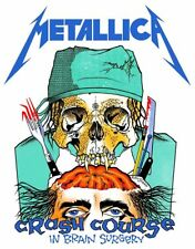 Metallica-Crash Course In Brain Surgery Heavy Metal Sticker or Magnet