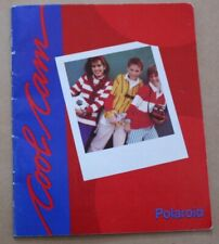 CoolCam Polaroid Camera Instruction Manual Catalog *Original . UK* English
