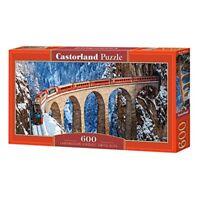 Landwasser Viaduct, Swiss Alps - 600 Pieces - Castorland Viaduct Puzzle B060016
