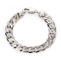 Mens 14K stainless steel chain cuban link bracelet antique jewelry Free shipping