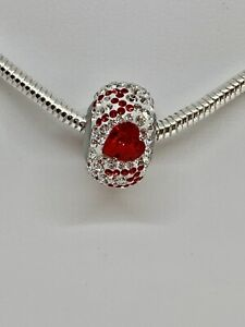 "Silver Necklace (16""/18"") with ""Best Mom"" Crystal Passion Bead by Swarovski"