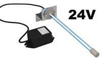 "24 volts PURE UV Light AIR Purifier for Ac Hvac Coil 24v 14"" Germicidal Bulb"