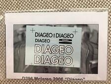 DIAGEO DECAL FOR 1/18 SCALE 2006 MCLAREN F1 DIE CAST