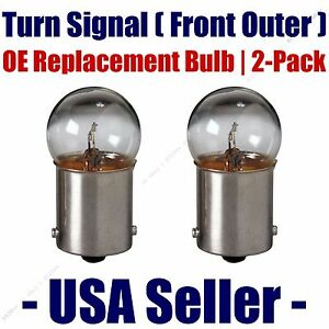 Front Outer Turn Signal Light Bulb 2pk - Fits Listed BMW Vehicles - 5007