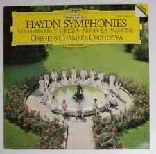Haydn Orpheus Chamber Orchestra Symphonies DGG  DIGITAL 419 607-1 LP