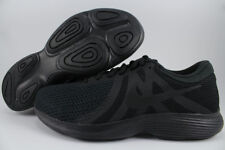 384ea85cf Nike Revolution 4 Extra Wide 4e EEEE Triple Black Mono Running US Mens  Sizes 10