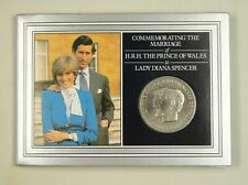 New listing Mauritius Commemorative Coin Card for Wedding of Prince Charles and Lady Diana