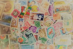 lotto di MILLE 1000 1.000 francobolli mondiali - in raccolta accumulo collezione