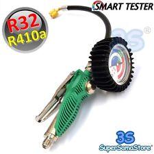 3S SMART TESTER POUR SYSTEMES AVEC GAZ R410a R32 Manomètre Frigoriste PRO clim