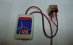 SOLAR / WIND TURBINE CHARGE CONTROLLER 12V,  40 AMP (550 watts)