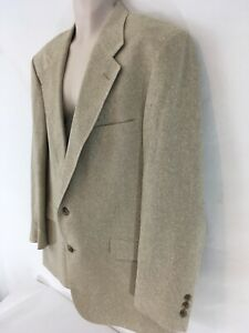 John Alexander Hartmarx Mens 44R Matka Silk 2 Button Suit Blazer Lined Jacket