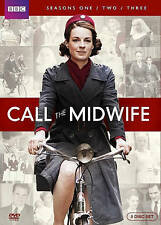 CALL THE MIDWIFE: SEASONS 1 2 3 BBC DVD 8-Disc Set SEALED free shipping & insur