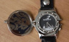 Dragon Heart Watch 1996 Black Leather Steampunk Band Dragonwatch Adena NIB 90s