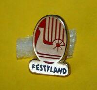 Pin's lapel pins pin Parc Park Attraction Viking FESTYLAND Manège LE DRAKKAR Zam