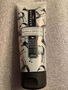Beekman 1802 Goat Milk Vanilla Absolute  Hand Cream Creme  2 Ounce Sealed