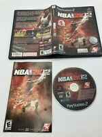 Sony PlayStation 2 PS2 CIB Complete Tested NBA 2K12 Ships Fast