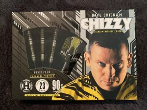 Harrows Dave Chisnall Steel Tip Darts 23G