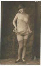 1920s Nude French RPPC Real Photo Postcard Risqué Armand NOYER J. Mandel