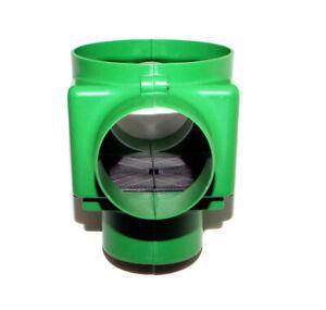Regenwasserfilter Zisternenfilter F100L mit Kunststoffspaltsieb