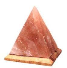 Pink Salt Crystal Lamp Pyramid Home Decor House Warming Gift