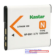 Kastar Repacement Battery for Sony NP-BN1 BC-CSN & Sony Cyber-shot DSC-W830