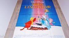 MERLIN L'ENCHANTEUR  ! affiche cinema animation bd  disney