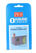 Peco LK-704 O gauge Wooden Lineside hut kit (NEW)
