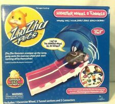 Zhu Zhu Pets Hamster Exercise Wheel And Tunnels Add On Set C4