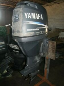 "Yamaha F75 75hp Yamaha outboard motor  20""shaft F75  F90 HP"