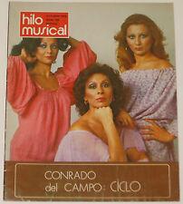 HILO MUSICAL #102 Octubre 1979 Vuelo Blanco spanish magazine revista