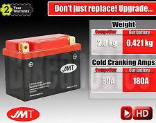 Upgrade Yuasa Lead-acid 12N5-4B to LITHIUM 462% more Cranking & 1.6 kg less