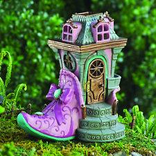 Fiddlehead Fairy Garden Accessory Miniature Pink SLIPPER Chateau