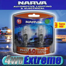 NARVA H1 GLOBES PLUS 60 LONG LIFE BULB 12V 55W 48334BL2 LIGHTS HEADLIGHTS ADR
