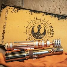 Skywalker Legacy Lightsaber Set Leia Organa Hilt & Reforged Skywalker Hilt LE