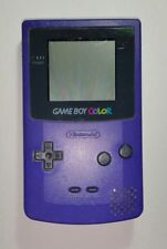 Nintendo Gameboy Color, Grape Purple - Tested & Working
