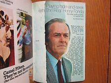 1971 TV Guide(HENRY  FONDA/HOT DOG/PHYLLIS ELIZABETH DAVIS/LOVE, AMERICAN STYLE)