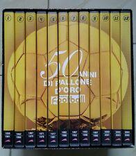 50 anni di pallone d'oro 12 dvd box cofanetto