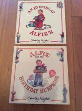Set Of 2 Shirley Hughes Hardback Books Alfie And The Birthday Surprise.