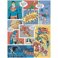 Galerie Superman Batman Flash Comic SUPERHÉROE NIÑOS Wallpaper Multi Color