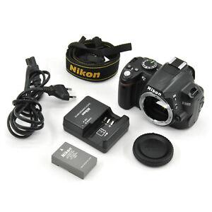 Nikon D3000 10.2MP DSLR Camera Body! Good Condition! Shutter Count - 15492!