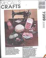7399 UNCUT Vintage McCalls Pattern Sewing Accessories Pin cushion case OOP SEW