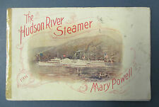 Hudson River Steamer MARY POWELL 1904 Guide Book, Illustrated