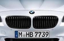 Black Kidney Grille Set Genuine BMW F10 M Performance 5 Series 51712165528