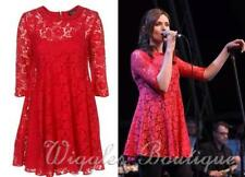 Topshop Patternless Party 3/4 Sleeve Dresses for Women