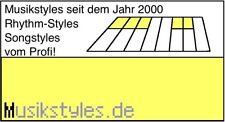 8000 TOP Styles für Yamaha PSR- & PSR-E Series als Download oder USB-Stick