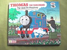 Vintage Thomas the tank Engine Tip & Fit Playtray wooden JIGSAW PUZZLE Stanfield
